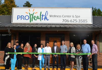 Pro Health cuts ribbon