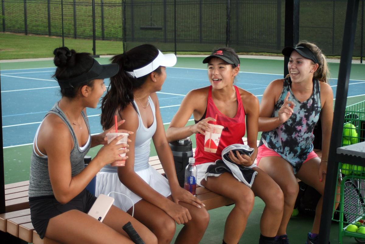 USTA Girls' 14 national championships in Rome through August 10