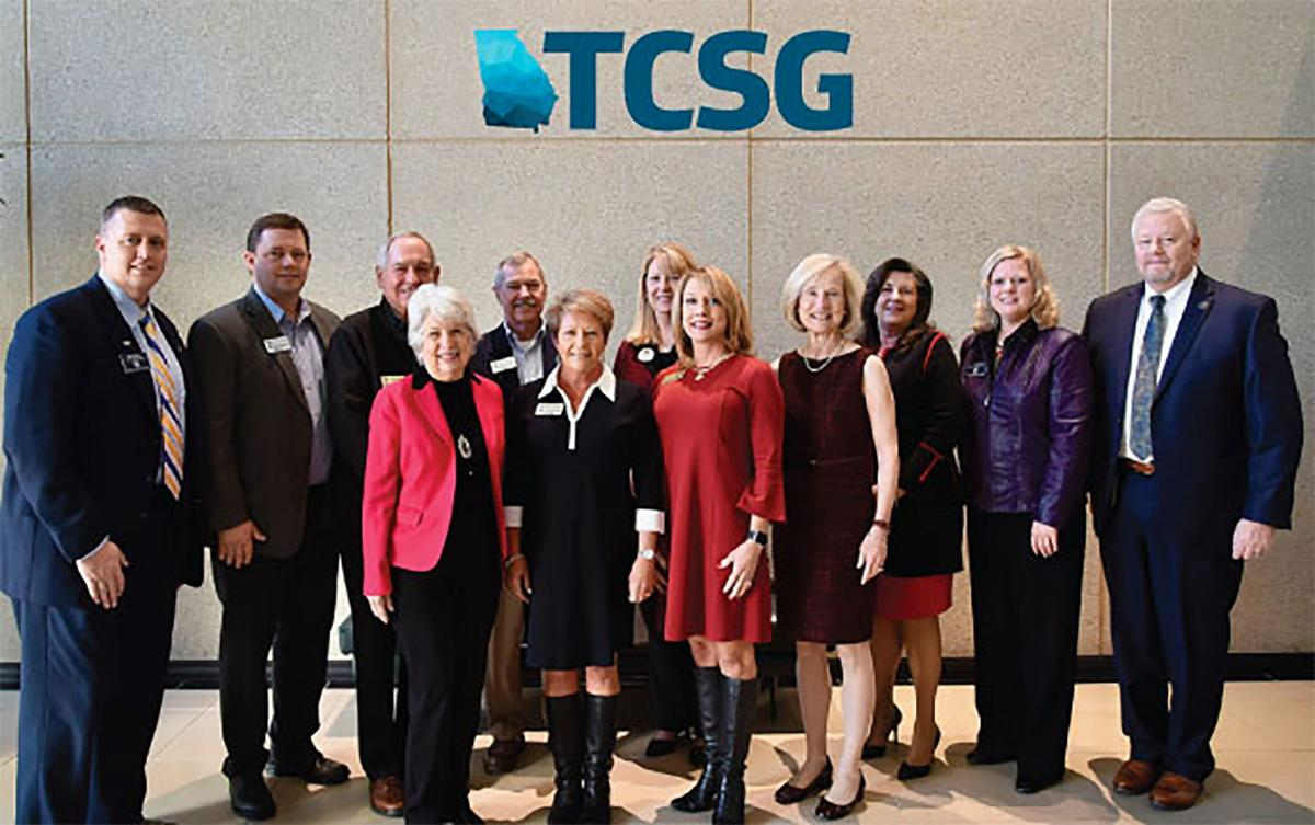 Catoosa Schools $3 mil grant group photo
