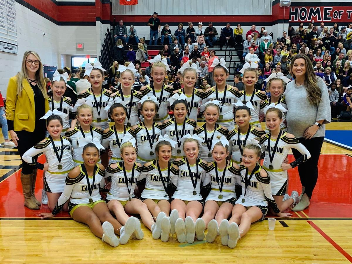 2019 Calhoun Middle School Competition Cheer Squad