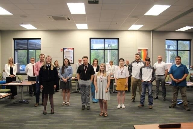 County students recognized for championships
