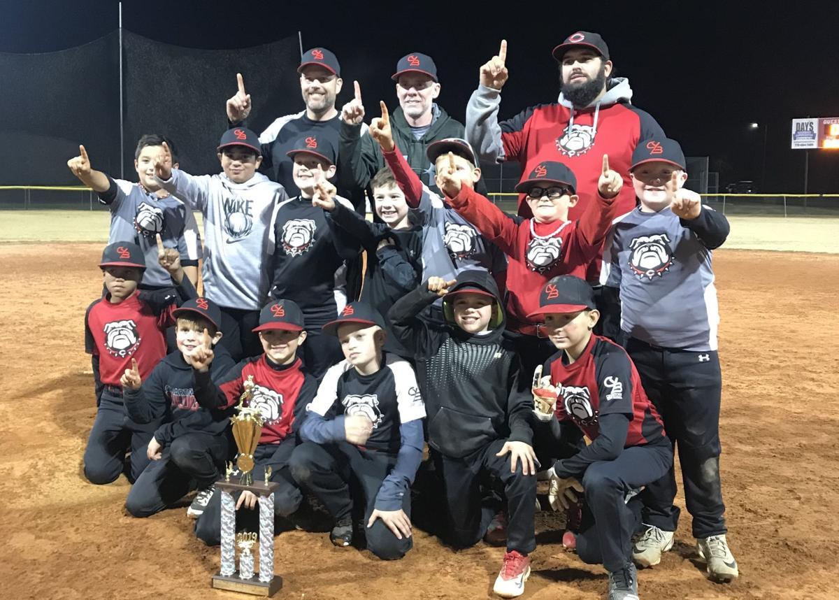 Cedartown 10-and-under tournament wins