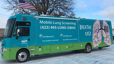 CHI Memorial mobile lung CT coach