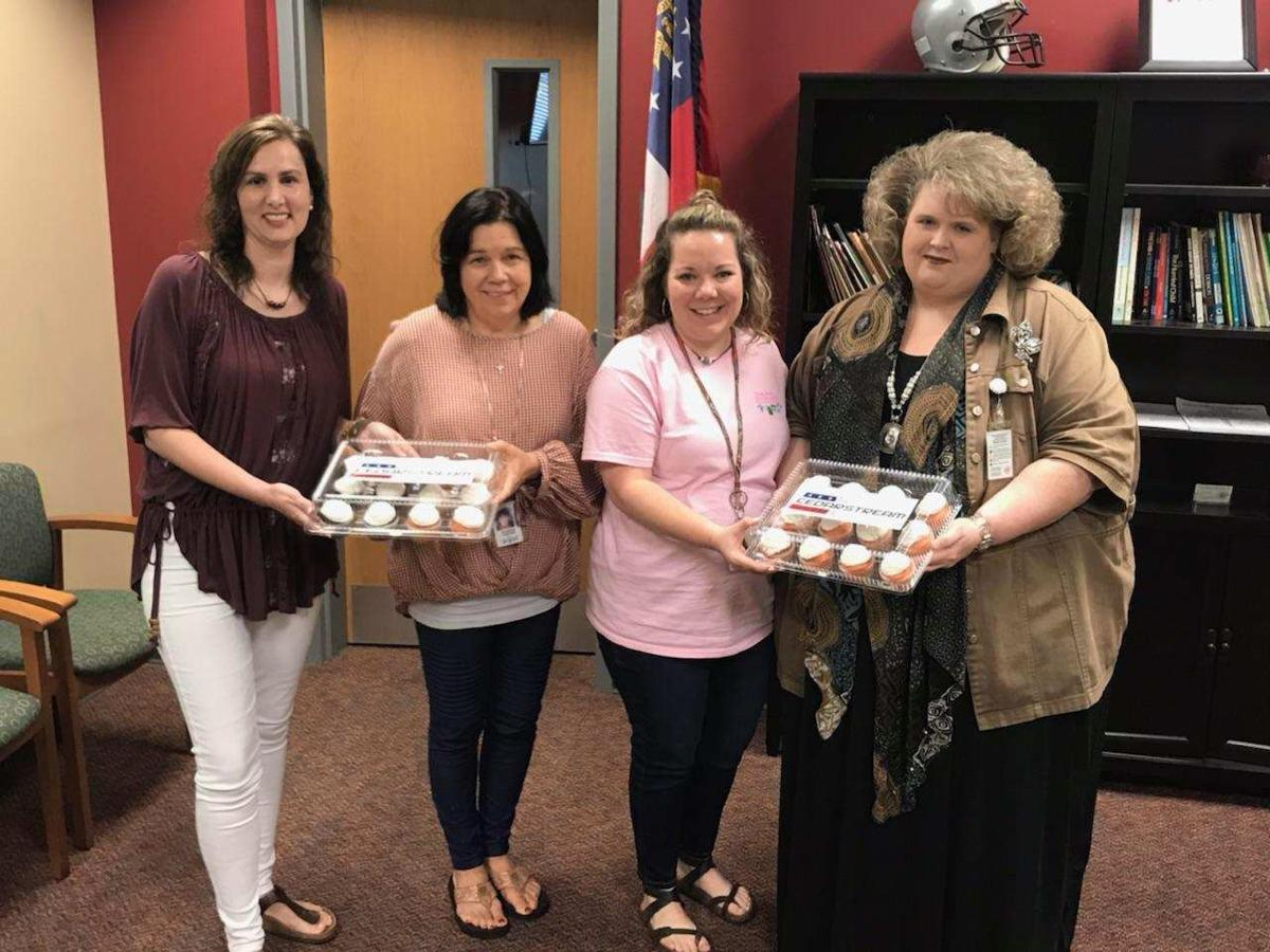 Cedarstream delivers sweets for National Teacher Day