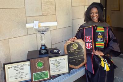 CHS alum receives doctorate from Xavier University