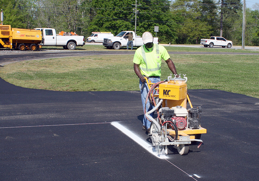 Helipad construction underway for FMC