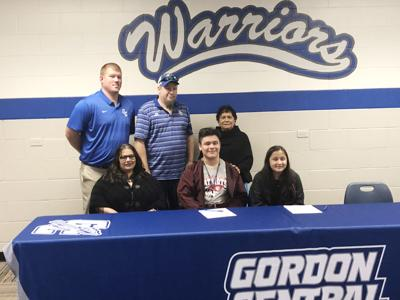 Reyes signs to play football at the University of the Cumberlands