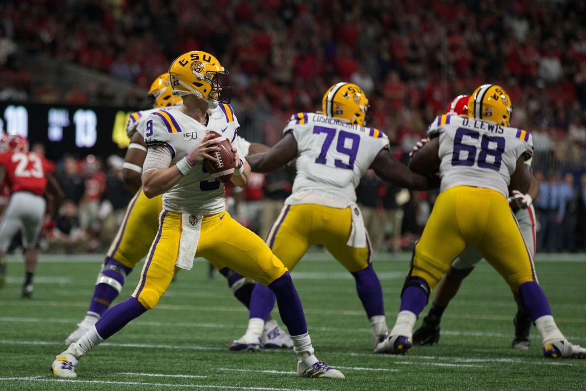 LSU's Joe Burrow vs. UGA - SEC Championship