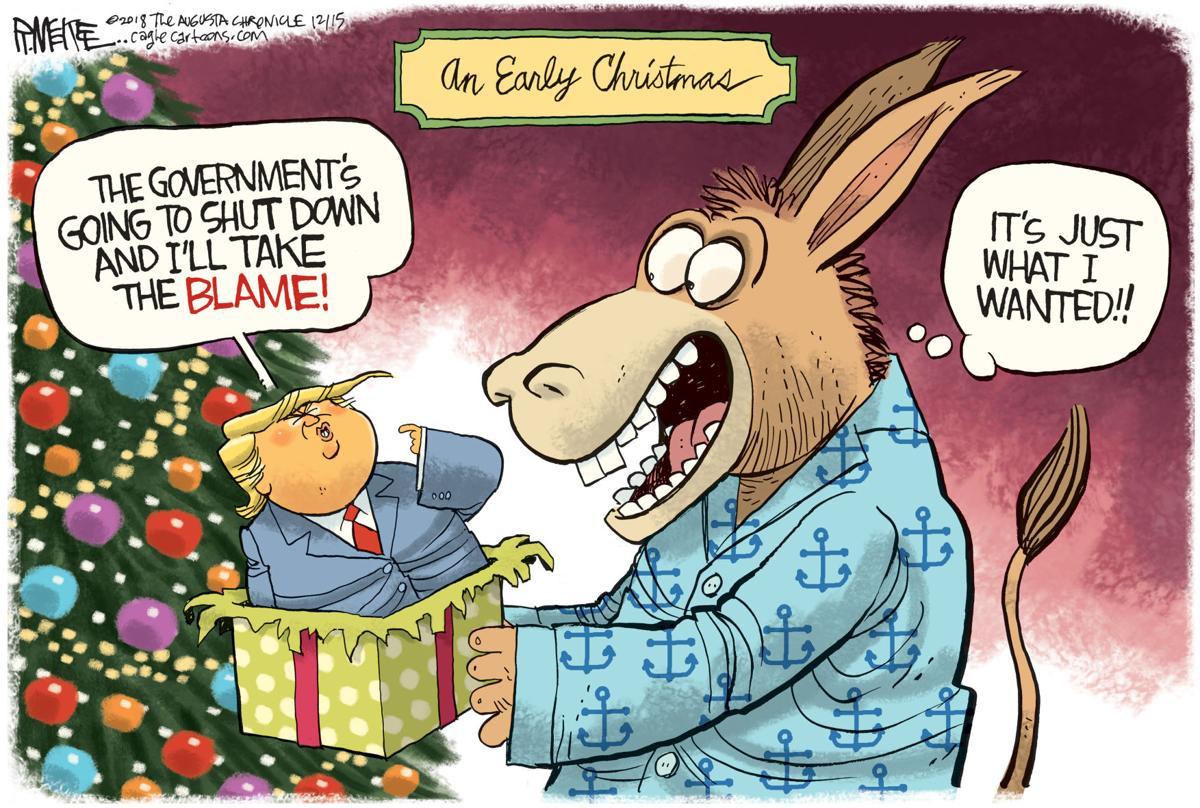 Democrats' Christmas gift