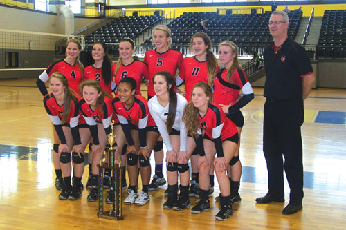 Sonoraville volleyball area title