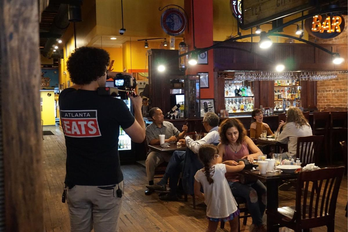 Atlanta Eats films at Harvest Moon