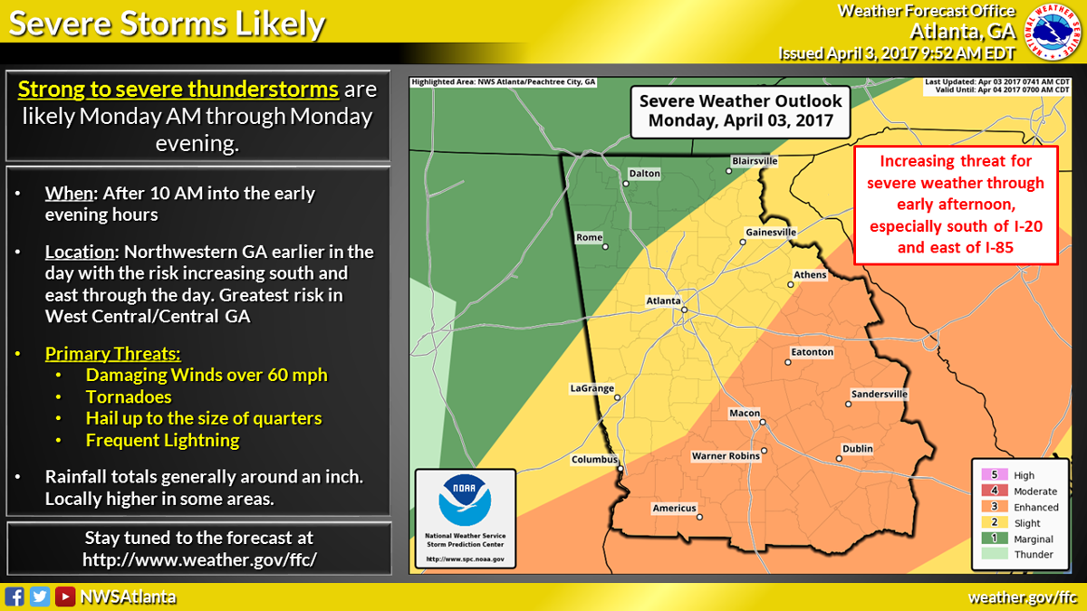 National Weather Service Expecting A Stormy Monday Cooler Weekend - Us weather service map