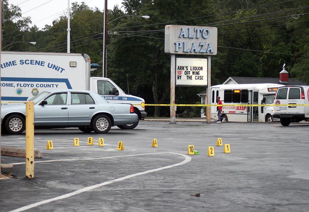 Shooting at Alto Plaza