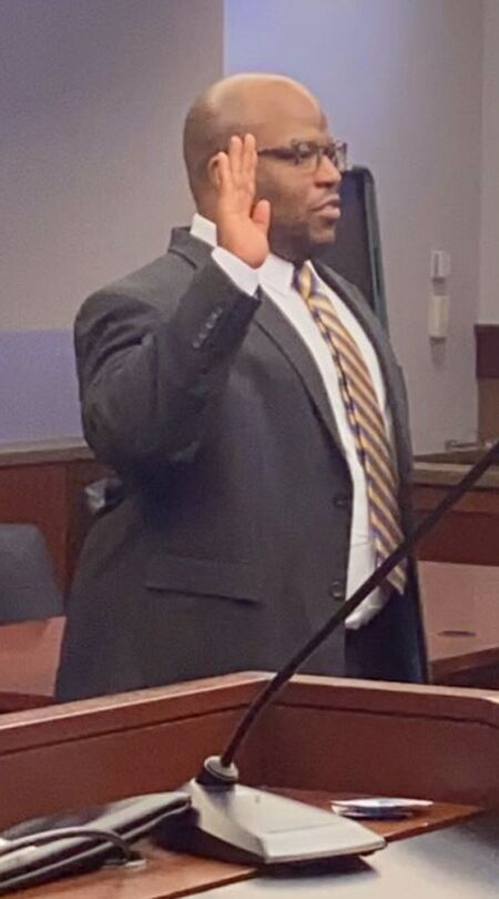Crandell sworn in after passing bar