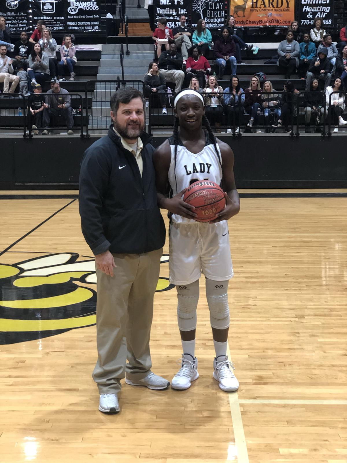 Berry reaches 1,000 point mark as Rockmart Lady Jacket