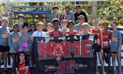 Rome Middle School cross country