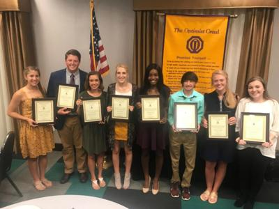 Noon Optmist Club names Students of the Year