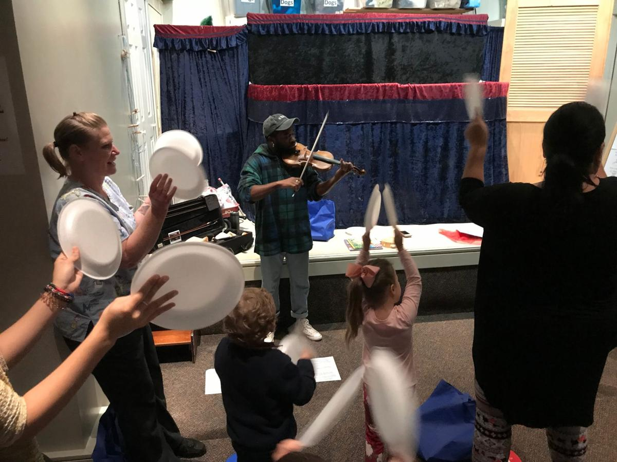 Rhythm and Reading workshop at the library