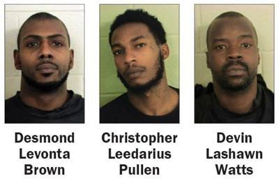 Murder charges mugshots
