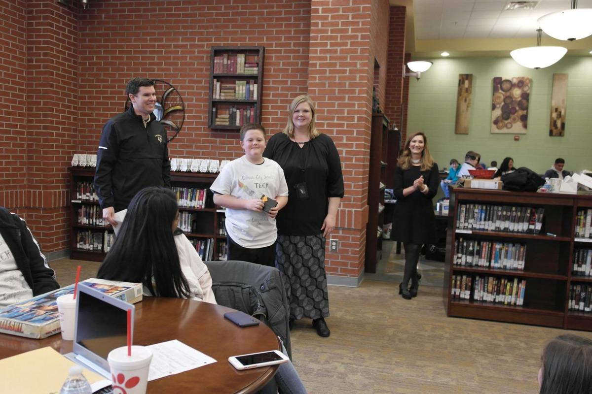Calhoun City Schools' tech competition