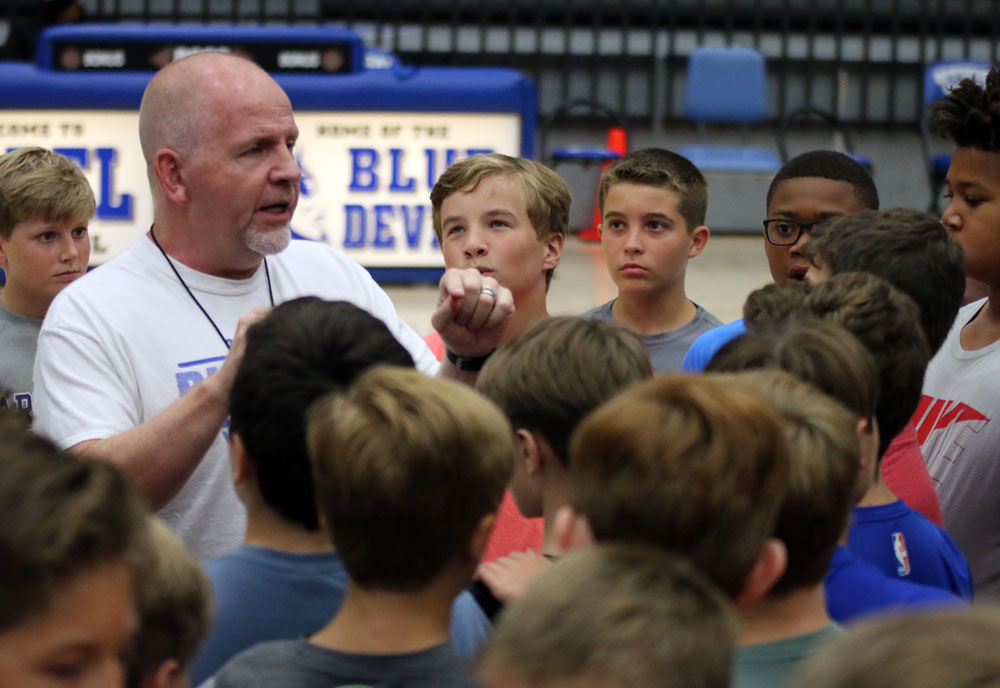 2018 Big Blue Basketball Camp