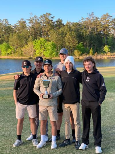 Coosa High School Golf Team - 2021 Floyd County Invitational Champions