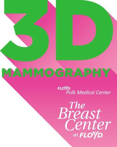 3D Mammography at Floyd Polk Medical Center