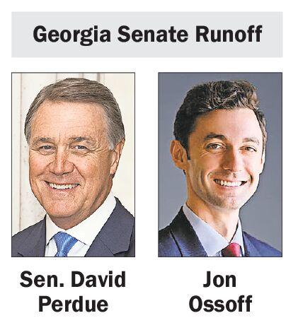 Perdue-Ossoff Georgia Senate Runoff