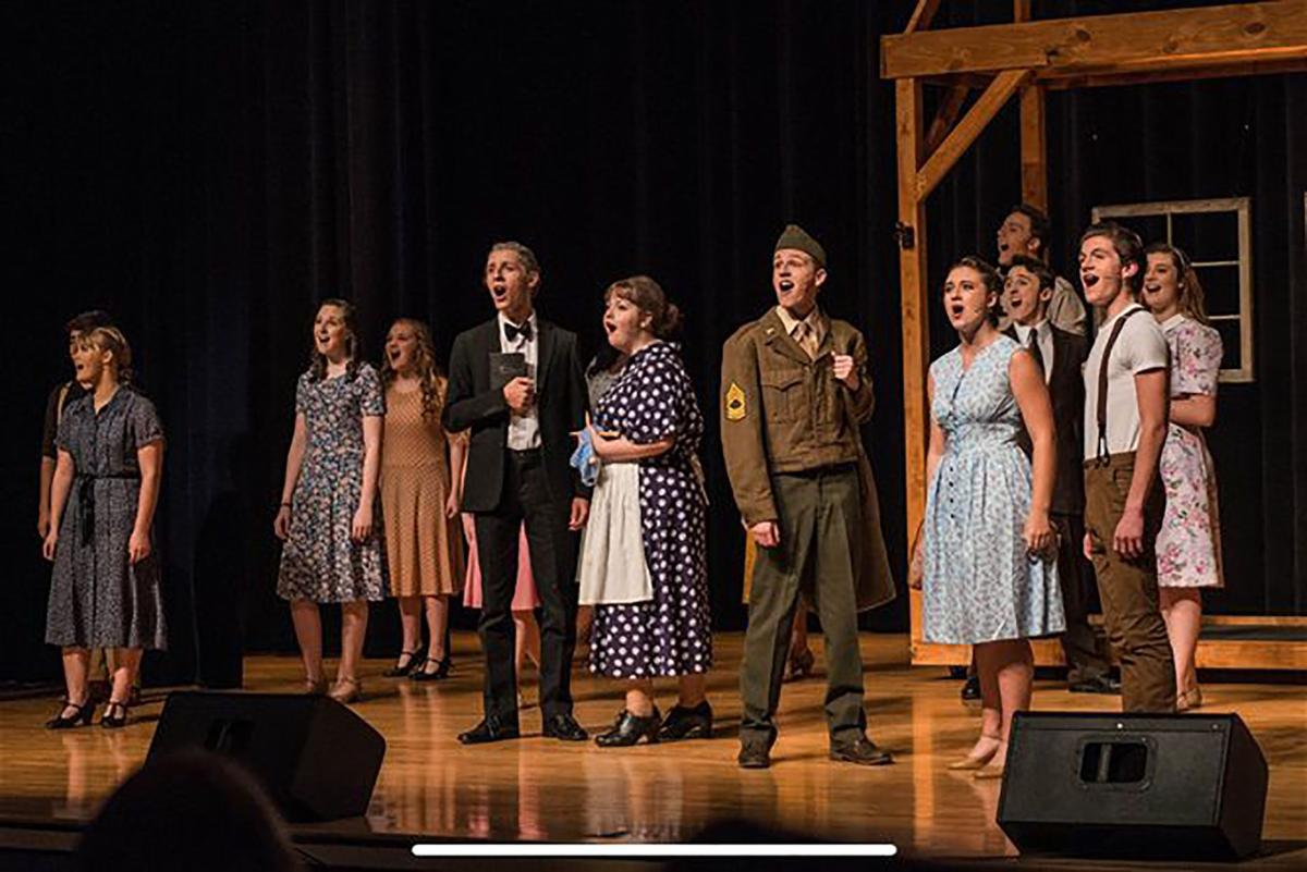 Ringgold High School acting troupe