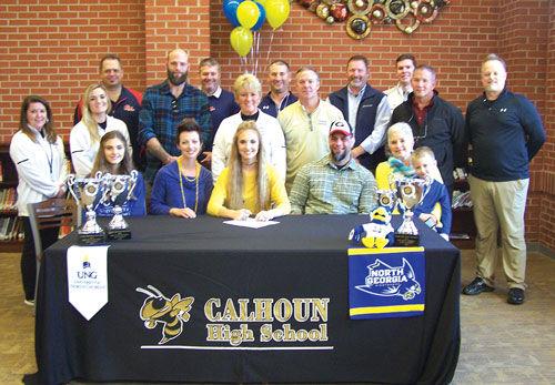 Calhoun's Carver signs with North Georgia