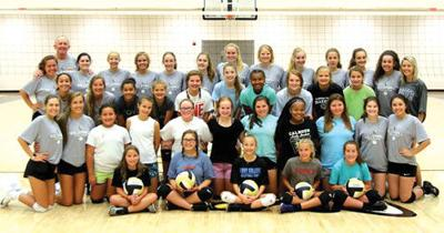 Calhoun Volleyball Camp 18