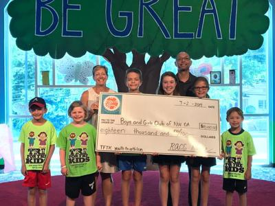 Tri for the Kids raises $18,000 for Boys & Girls Clubs