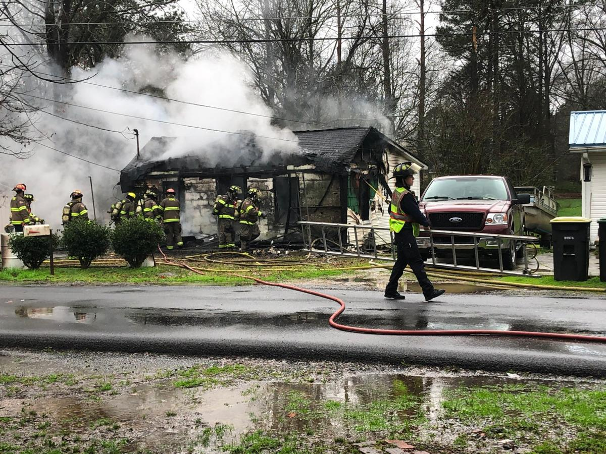 Fire rips through home on Maryland Drive