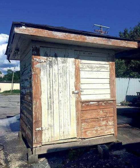 Ft. O's last guard shack