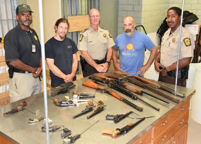 Fulton County gun iron pour