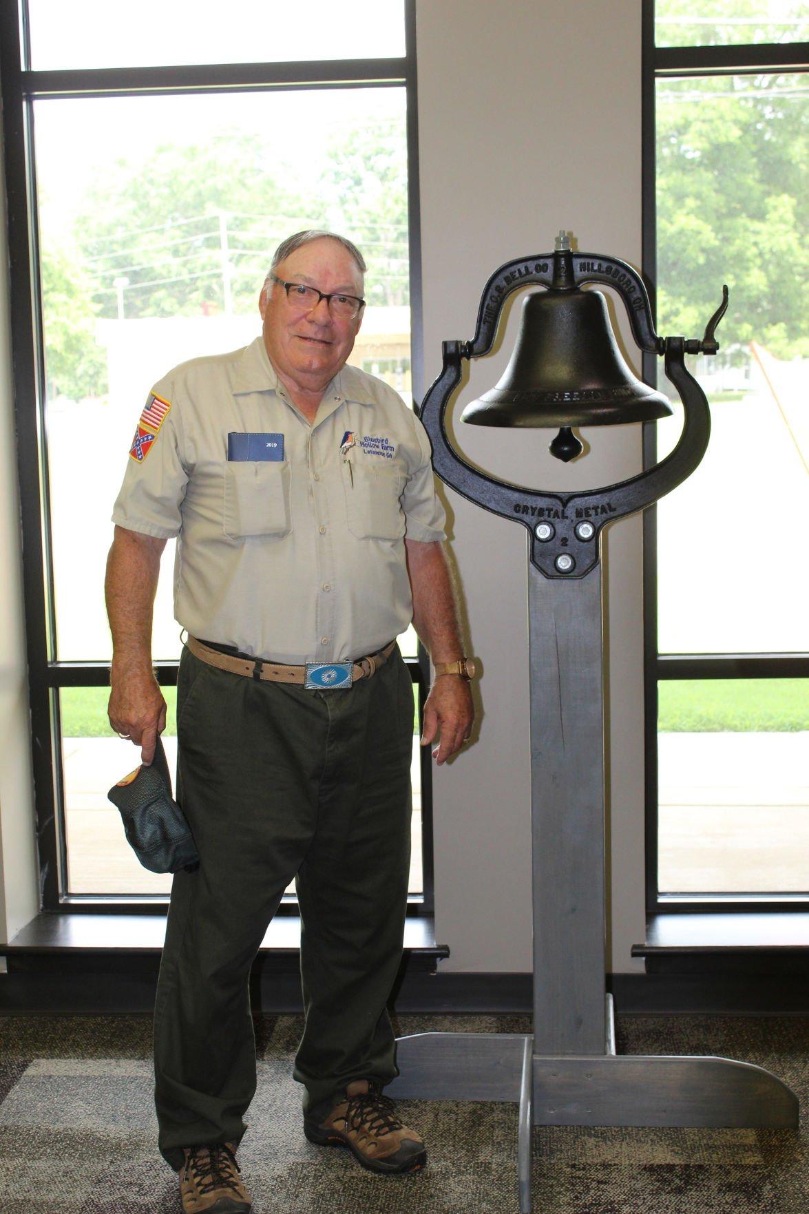 Cast Iron Farm Dinner Bell Up For Grabs Public Charity Benefits Lifestyles Northwestgeorgianews Com