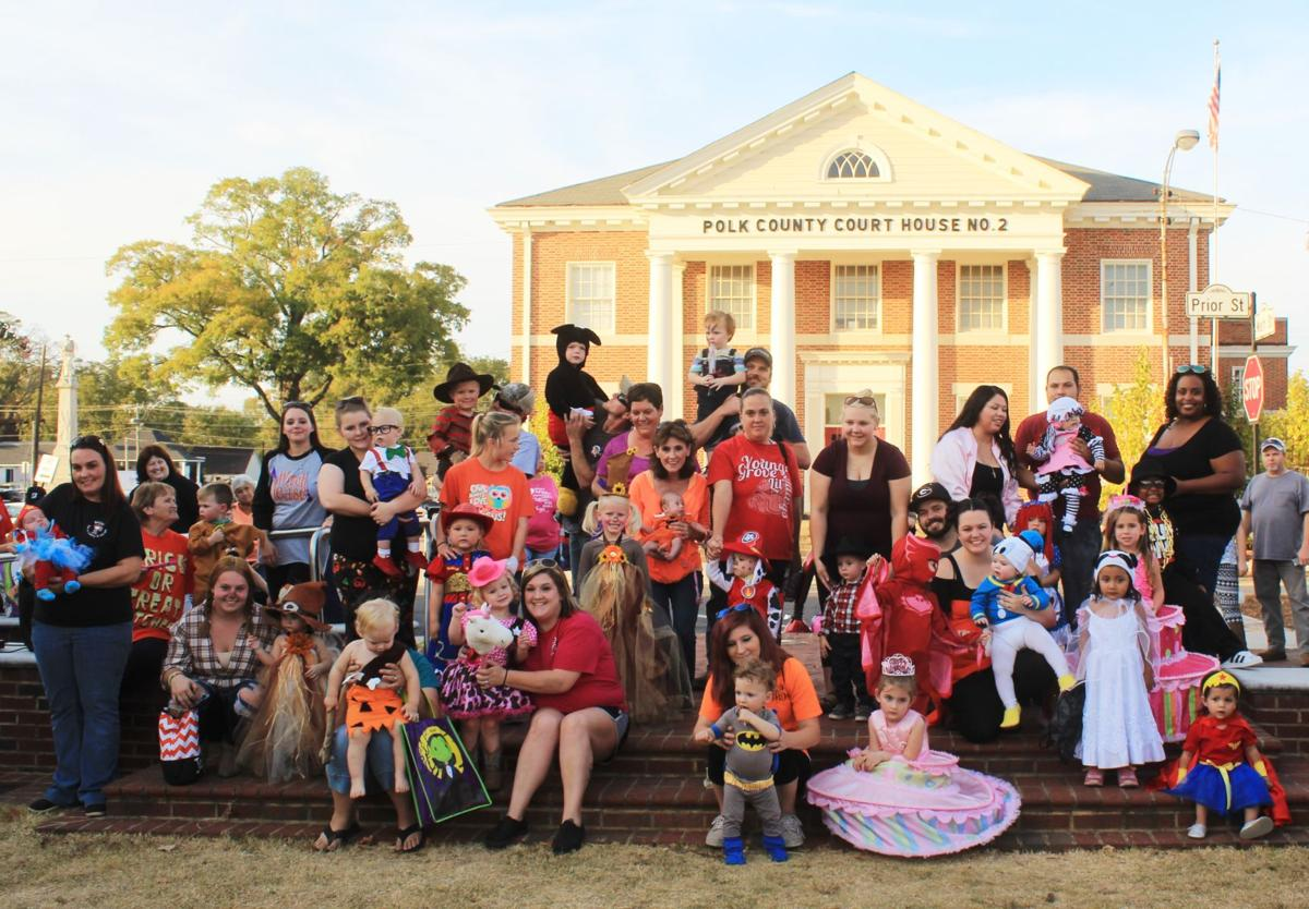 Halloween Costume Contest 0-4 year old group