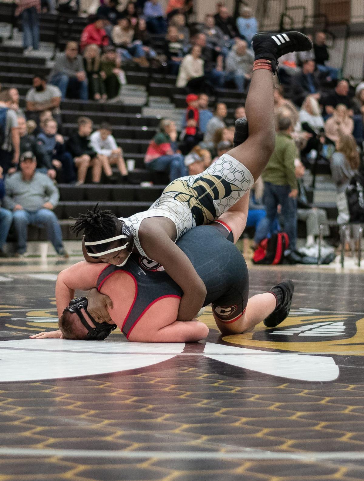 Calhoun Wrestling vs. Chattooga - Calhoun High School (Jan. 8)