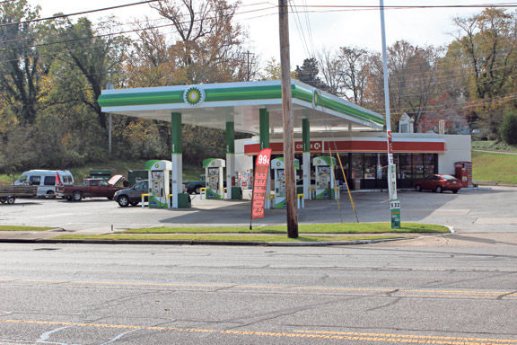 Kangaroo gas station on Lafayette Road in Rossville