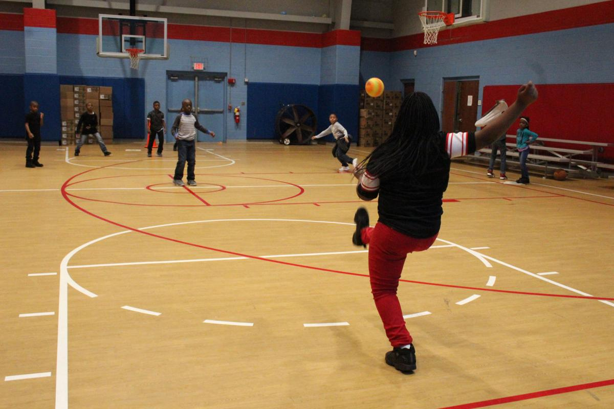 After school fun at the Boys and Girls club