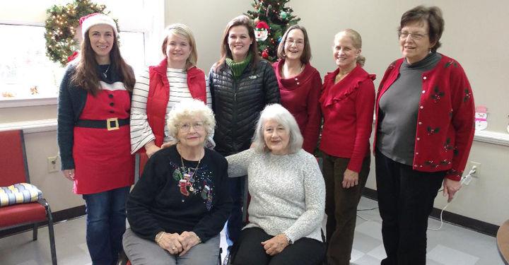 Merry Christmas at Gordon County Senior Center
