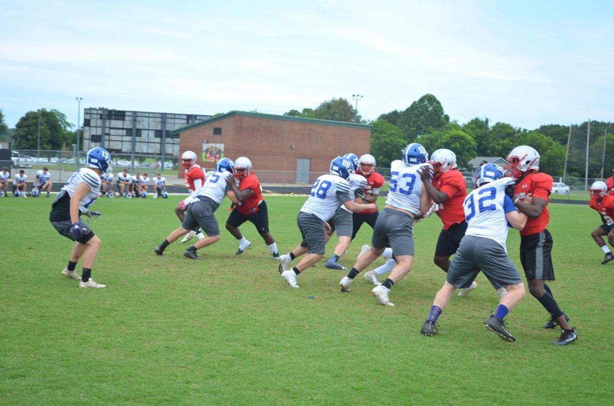 Jackets host camp sessions at The Rock