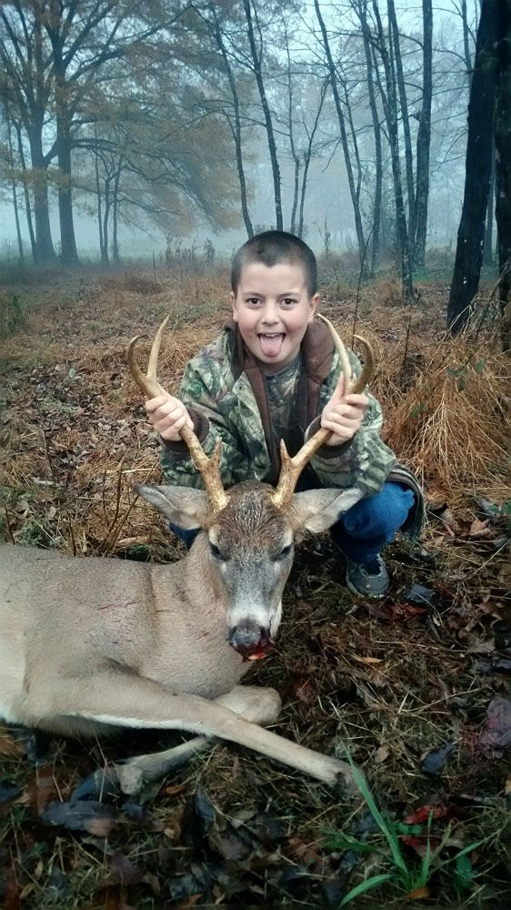 Ladies, kids deer hunt