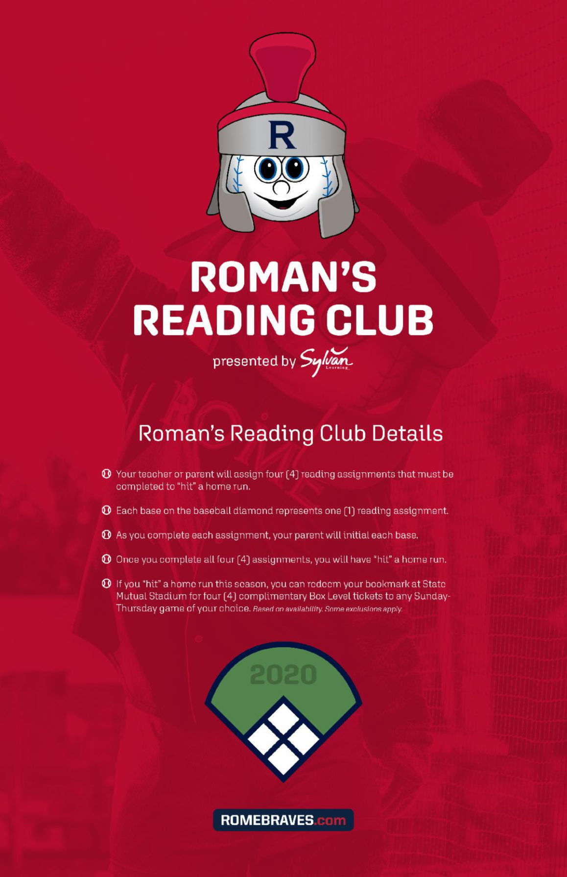 Rome Braves reading club now available online