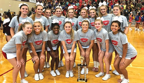 Sonoraville Cheer at Heritage