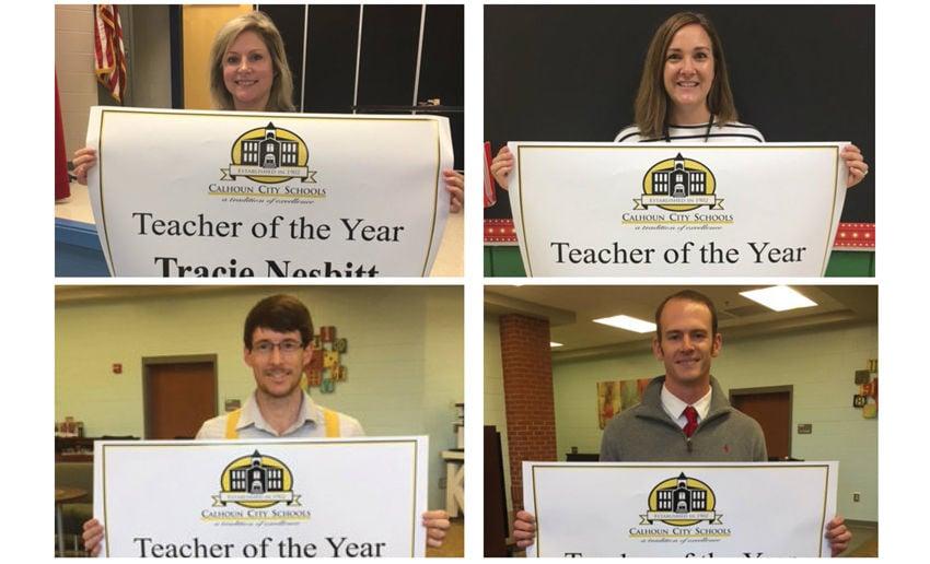 Calhoun City Schools announces Teachers of the Year 2018-19