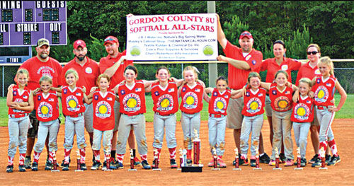 Gordon County 8-under state runners-up