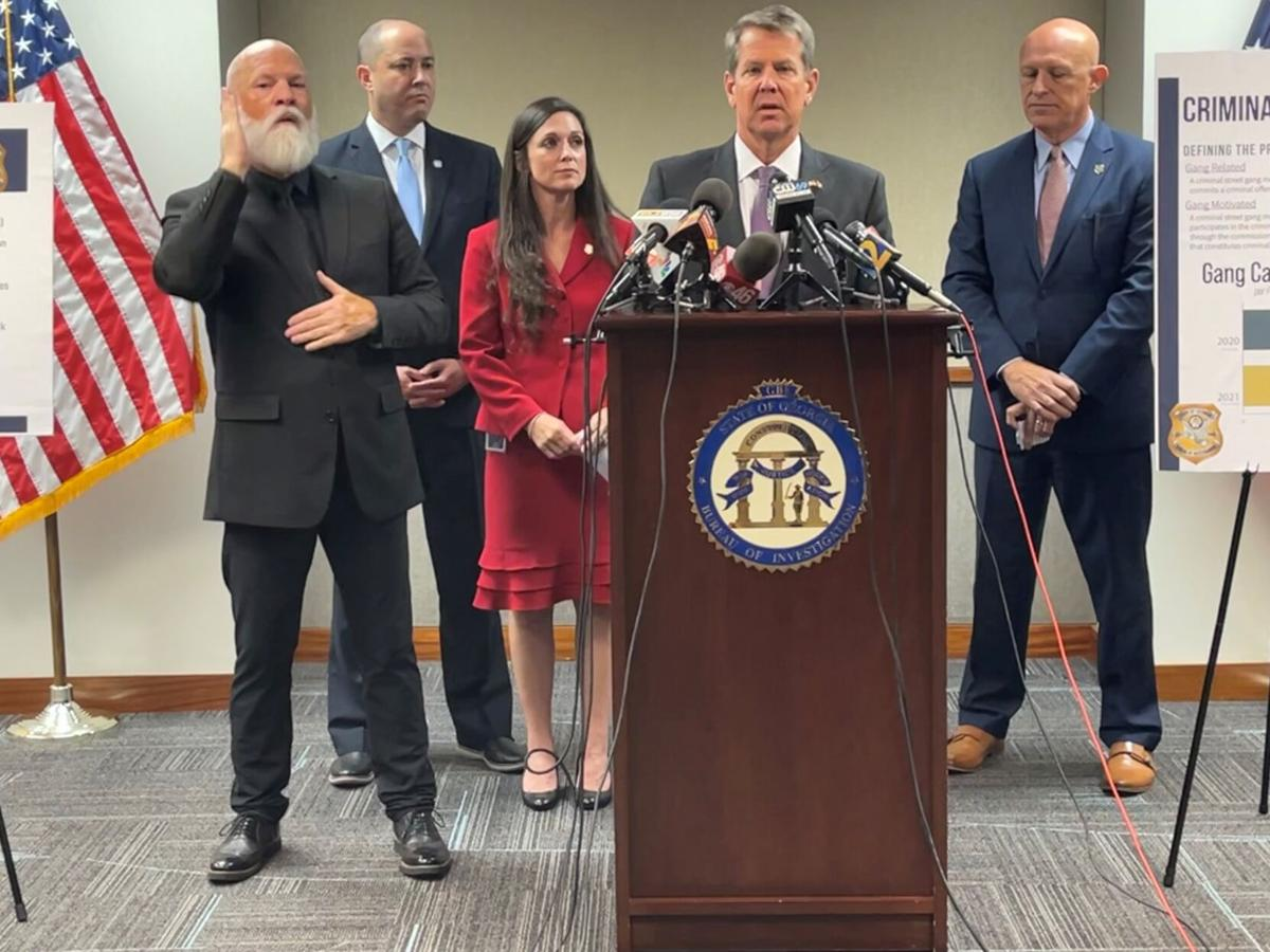Kemp: Two-year-old Gang Task Force starting to pay dividends in Georgia