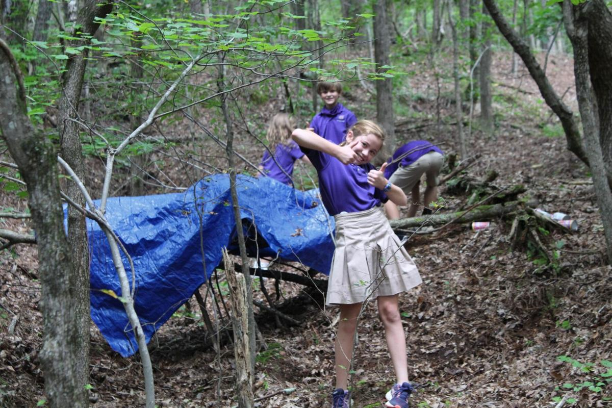 Darlington 4th and 5th graders go out into nature to bring summer reading to life