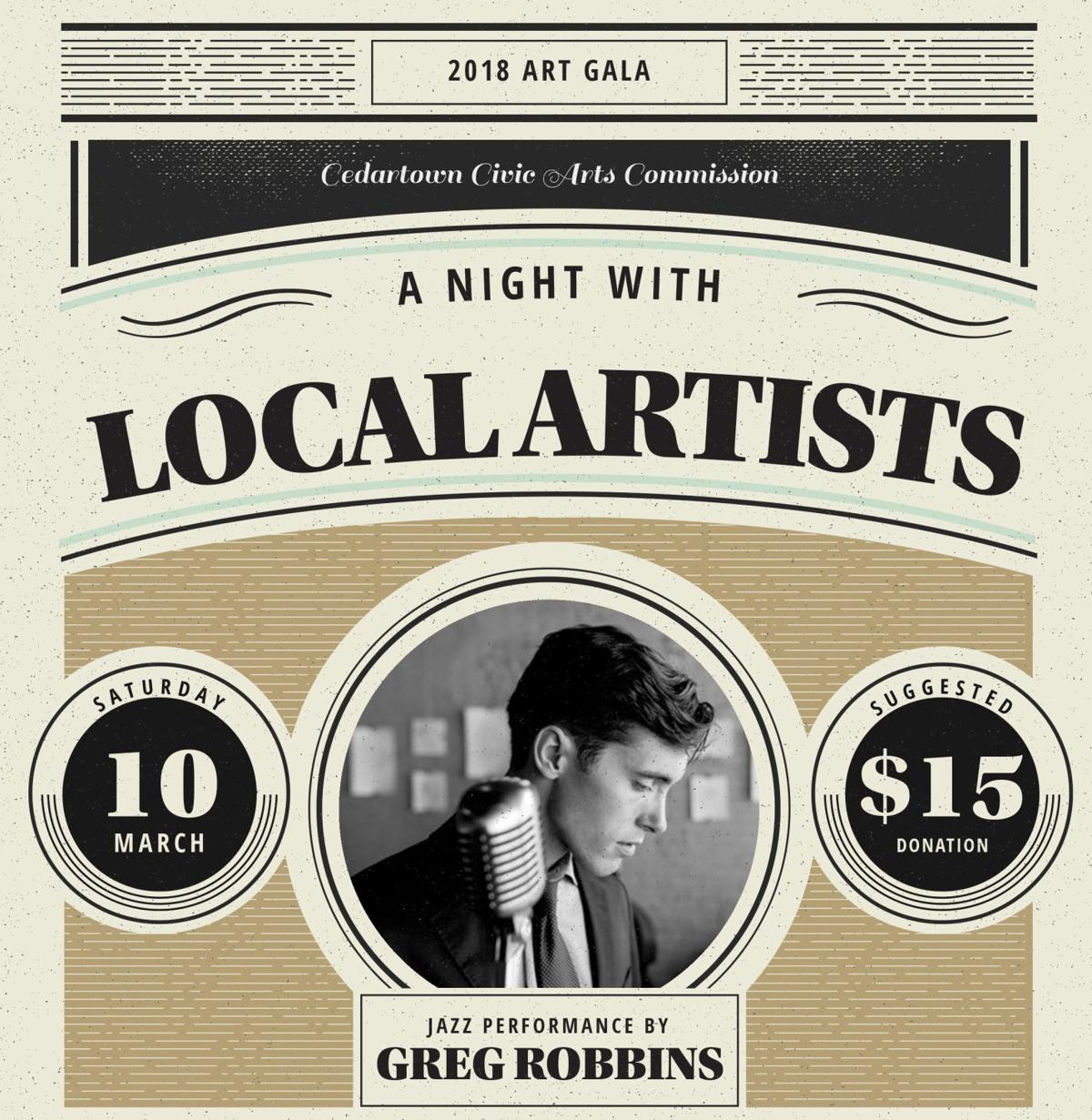 2018 A Night with Local Artists